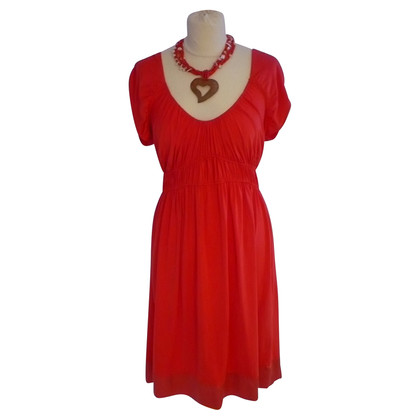 Hale Bob vestito rosso corallo