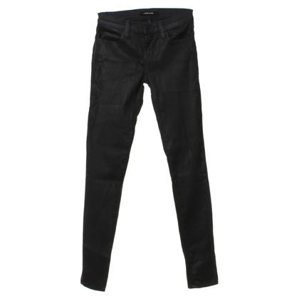 J Brand blue jeans met coating
