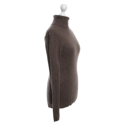 Allude Cashmere sweater pullover in brown