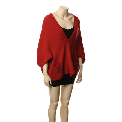 See by Chloé Red wool poncho