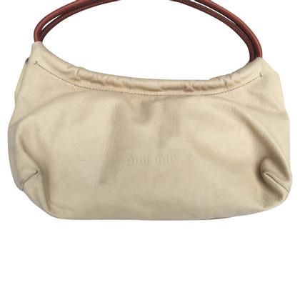Miu Miu Handtasche in Beige