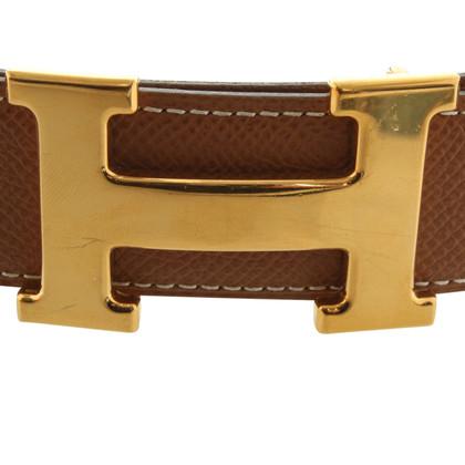 Hermès Belt with logos