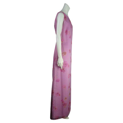 Laurèl Robe de soirée avec imprimé floral