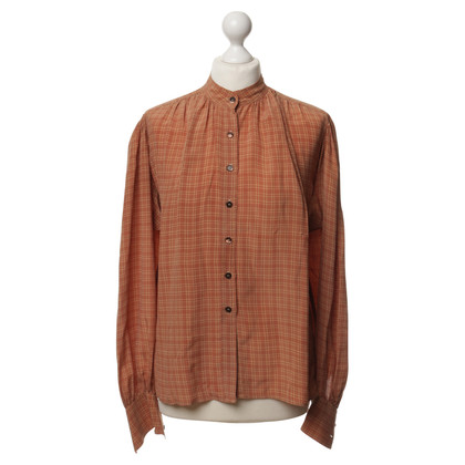 Jil Sander Silk blouse with Plaid