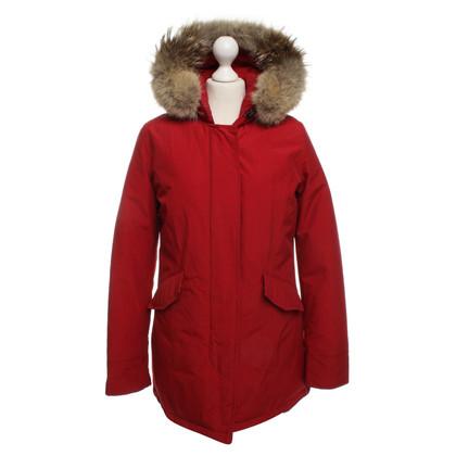 Woolrich Parka with fur trim