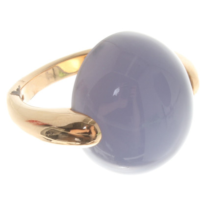 "Pomellato Geelgouden ring ""Luna"""