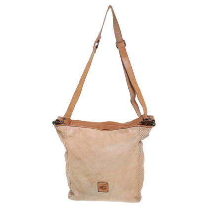 Campomaggi Vintage-look bag in beige