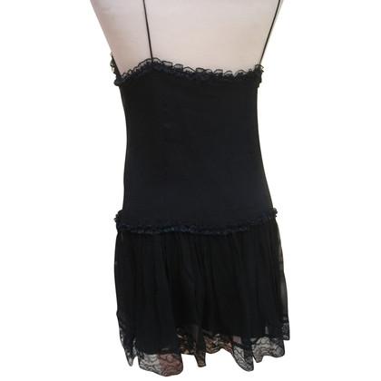 Dolce & Gabbana Zwarte kanten jurk