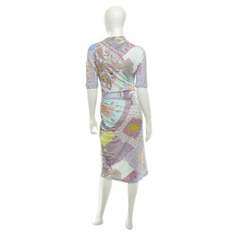 Etro Kleid in Multicolor Bunt / Muster Freies Verschiffen Nagelneues Unisex VZpQ9