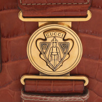 "Gucci ""Hysteria Bag"" made of crocodile leather in brown"