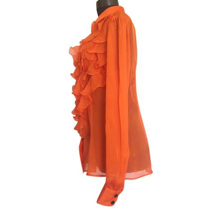 D&G silk blouse