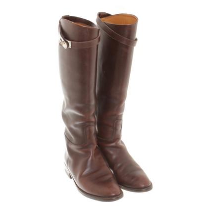 Hermès Laarzen in bruin