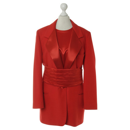 Escada Ensemble in Rot