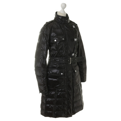 Belstaff Quilted coat in dark brown