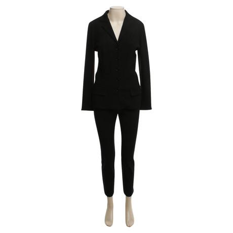 Dolce & Gabbana Anzug in Schwarz Schwarz