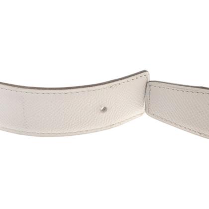 Hermès reversible belt in black and white
