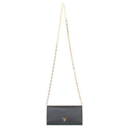 Prada Schouder tas gemaakt van Saffiano
