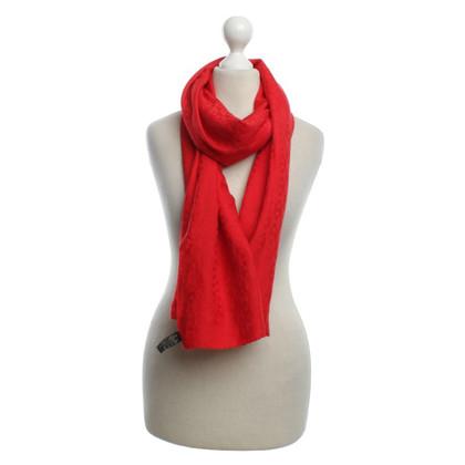 Hermès Tuch in Rot