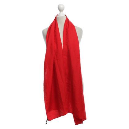 Hermès Doek in het rood