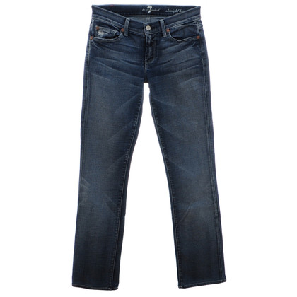 7 For All Mankind Media blu dei jeans
