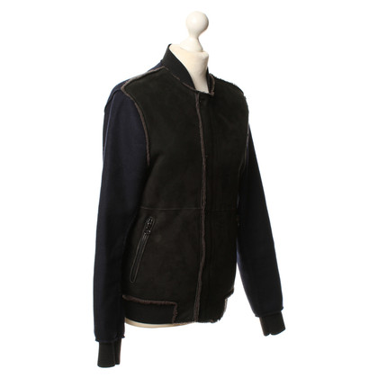 Lanvin Wool/leather jacket