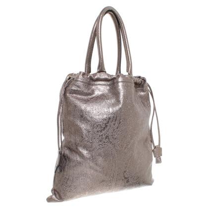 Etro Handtasche in Bronze-Metallic