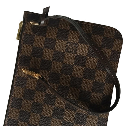 "Louis Vuitton ""Pochette Accessories Damier Ebene Canvas"""