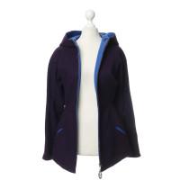 Mugler Thierry Mugler - Violettfarbene wool jacket