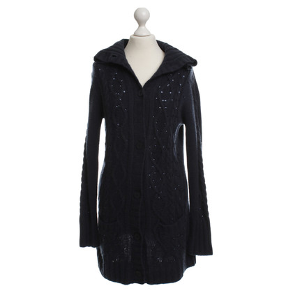 FTC Knitted coat in cashmere