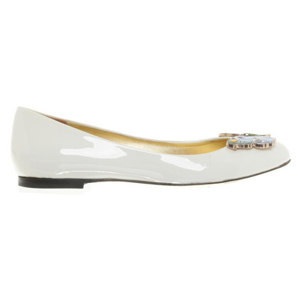 Versace for H&M Ballerinas in Creme