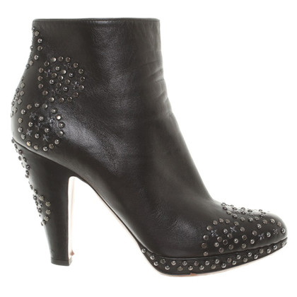 Alaïa Ankle boots with rivets