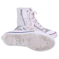 Ash High-top sneaker with rivet details