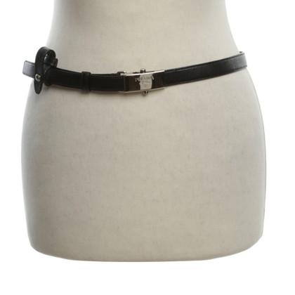 Prada Leather Belt zwart