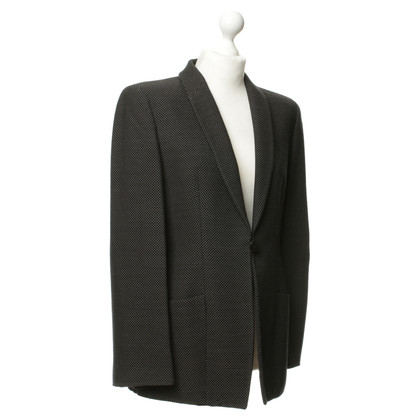 Giorgio Armani Patterned wool Blazer