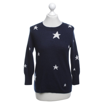 J. Crew Cashmere sweater with star pattern