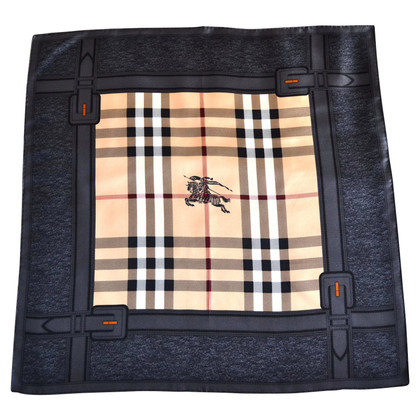 Burberry Silk scarf with Nova-Check pattern