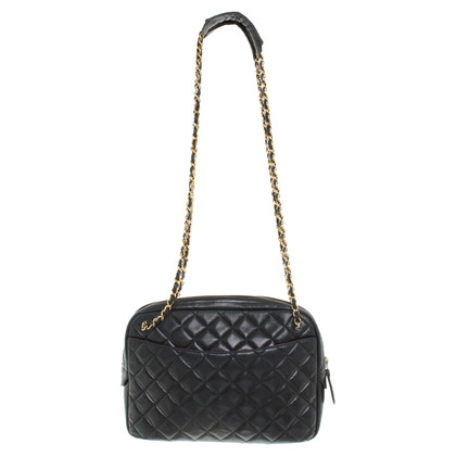 Chanel Quilted handbag in black