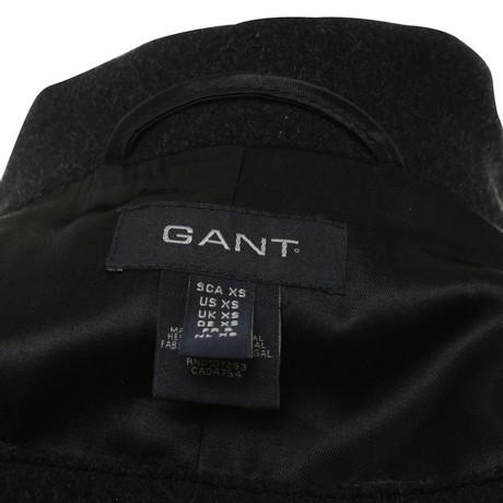 Schwarz Mantel Gant Gant Schwarz in Mantel wqngFxfn