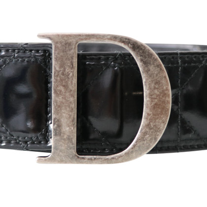Christian Dior Leather Belt in Cannage design