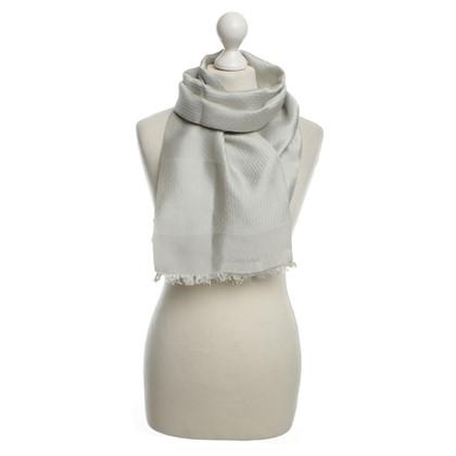 Dolce & Gabbana Seidenschal in Grau