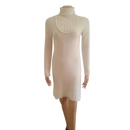 Chloé Cashmere flounce dress