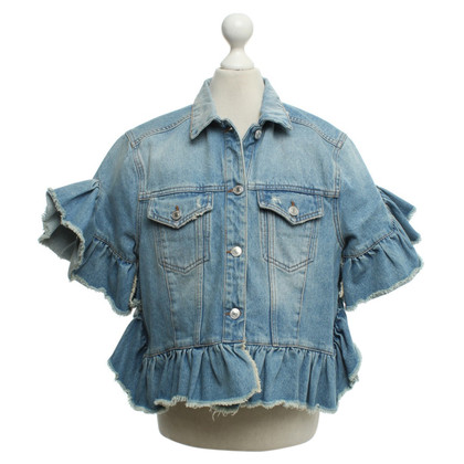 MSGM Denim jacket in used look