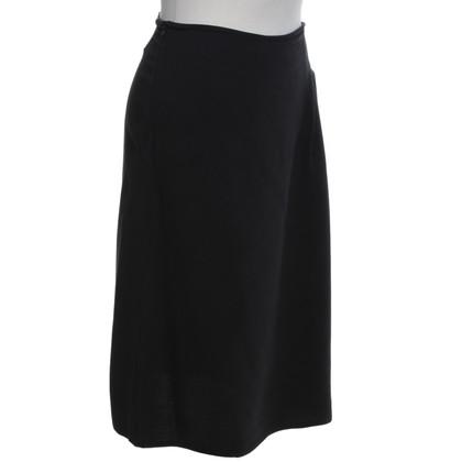 Jil Sander skirt in black