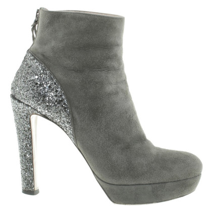 Miu Miu Suede boots in gray