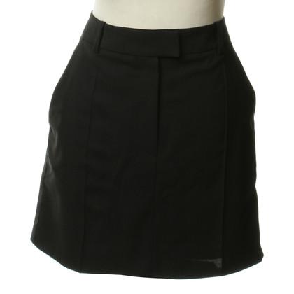 Hugo Boss Wollen rok in zwart