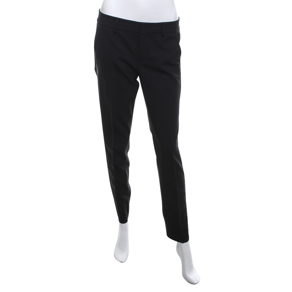 Vince trousers in black / cream