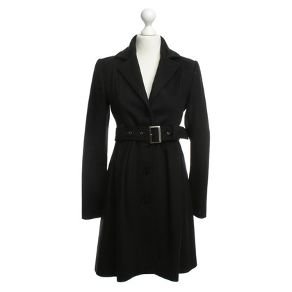 Patrizia Pepe Wool coat in black