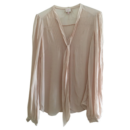 Whistles Sled blouse in rose