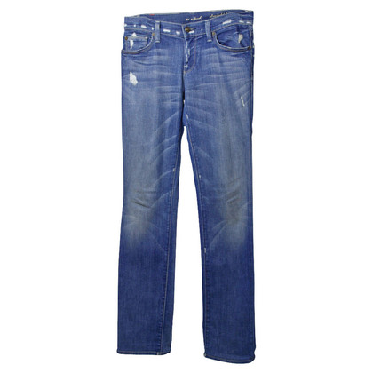 7 For All Mankind Blue Jeans in the used look