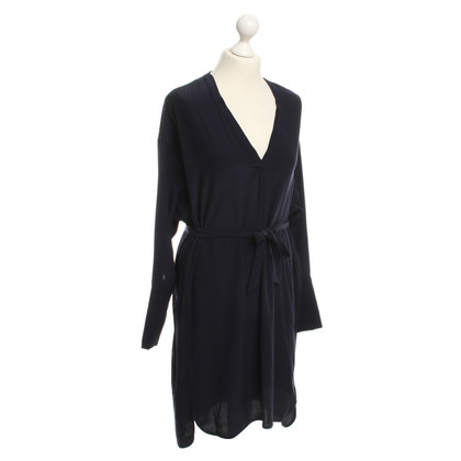 Set Shirt jurk in donkerblauw